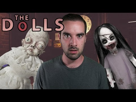 The Dolls Ending | Indie Horror Game (Nights 4-6) - They Just Teleport In!