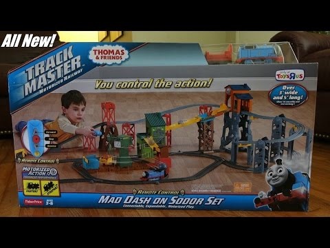 Checking Out The All New Thomas & Friends Trackmaster Mad Dash On Sodor Set