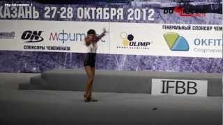 Кубок России 2012. Фитнес юниорки.