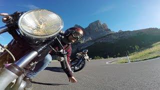GoPro: Cafe Racer Ride Through Dolomites