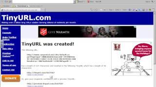 TinyURL.com How-To Tutorial thumbnail