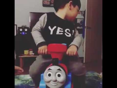 Thomas the tank engine face swap