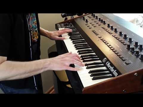 Van Halen - Jump - Keyboard cover on Oberheim OB-8 - Keyboard Only