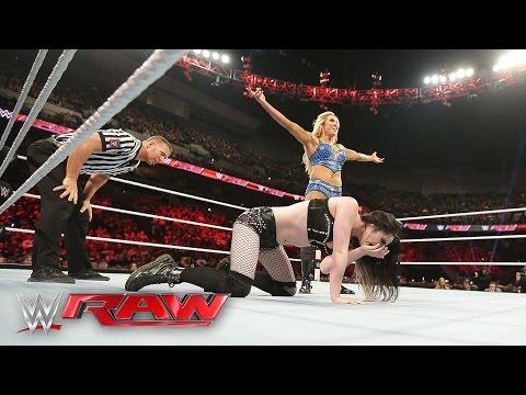 Paige vs. Charlotte: Raw, May 9, 2016