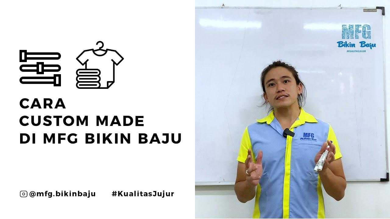 Download CARA CUSTOM MADE DI MFG BIKIN BAJU