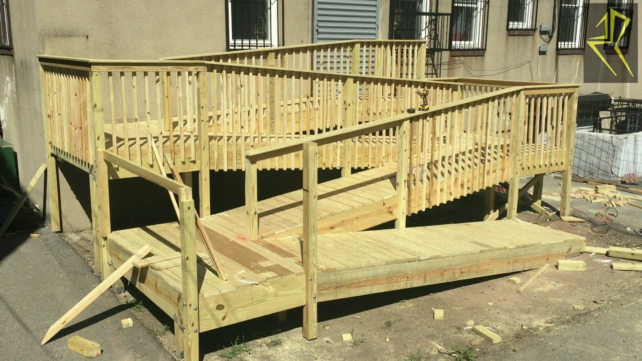 How To Build A Handicap Ramp >> Building a Handicapped Access Ramp Pre Kindergarten Project - YouTube