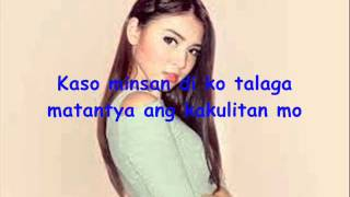 Repeat youtube video Mr.Antipatiko - Nadine Lustre (lyrics)