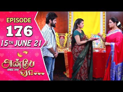 Anbe Vaa Serial | Episode 176 | 15th June 2021 | Virat | Delna Davis | Saregama TV Shows Tamil