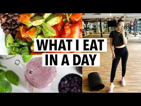 WHAT I EAT TO BE HEALTHY (quick meal ideas) + my workout and daily routine