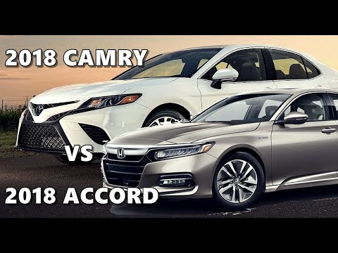 honda accord vs toyota camry 2018 youtube. Black Bedroom Furniture Sets. Home Design Ideas