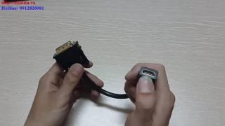 Cáp chuyển đổi DVI 24+1 to HDMI Ugreen UG-20118 chính hãng