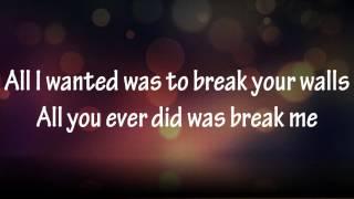 Miley Cyrus - Wrecking ball (Karaoke/Instrumental) HD