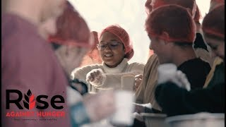 College: Rise Against Hunger 2018