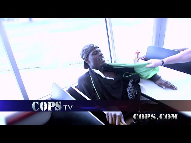 Toasted Buns, Officer McDonald, COPS TV SHOW
