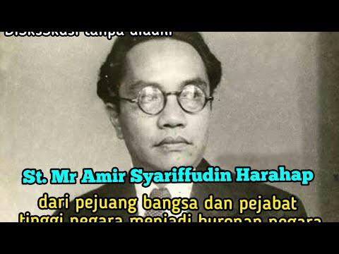 Mr. Amir Syarifudin Harahap Putra Batak Pejuang Bangsa Yang Dikorbankan