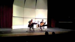 Odeum Guitar Duo - 3-04-11 - Ferdinand Carulli - Serenade - 3rd movt.