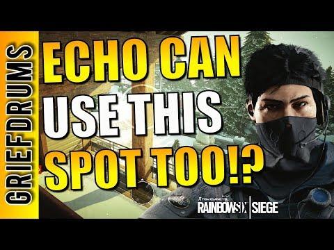 Best Echo Drone Spot - Rainbow Six Siege Top 3 Tips of the Week #16