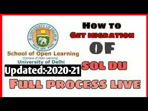 How To Get Migration Of Sol Du. Full Process Live.