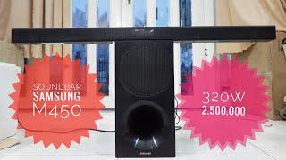 Soundbar Samsung M450 wireless 320w    Test âm thanh  