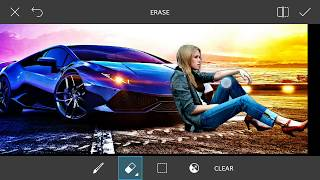 HDR Effect + Change Background | Picsart Editing Tutorial | Awesome Editing by KMG