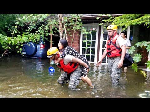 Houston area slammed more flooding from Harvey