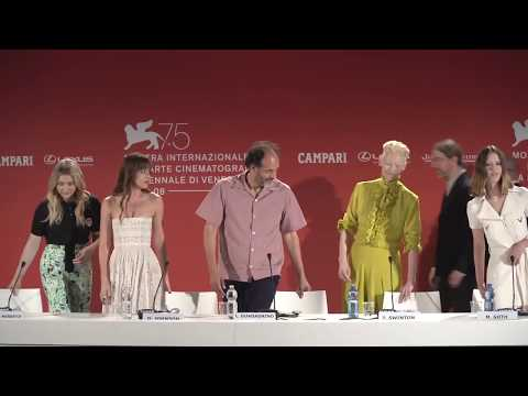Suspiria - Conferencia de prensa en el 75th Venice Film Festival