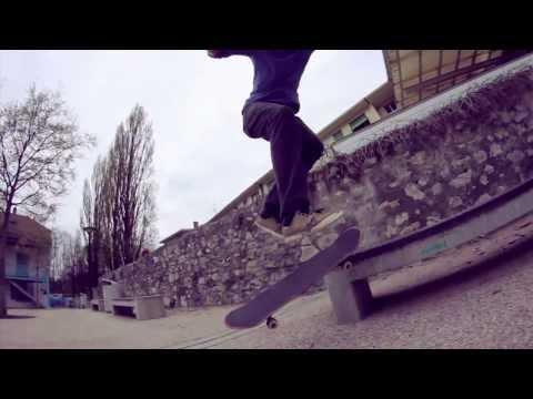 Ännvier Skateboards | «Promo» - Andrin Leu
