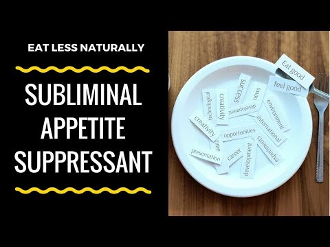 SUBLIMINAL APPETITE SUPPRESSANT | Control Your Appetite Naturally with Affirmations & Alpha Waves