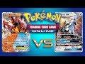 Volcanion EX VS Random Decks - Pokemon TCG Online Gameplay
