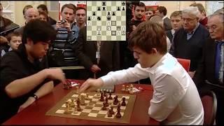MAGNUS CARLSEN VS HIKARU NAKAMURA - BLITZ CHESS 2010