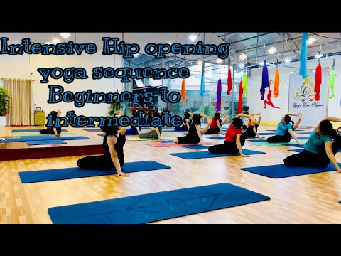 intensive hip opening yoga sequence beginners to