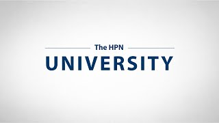 The HPN University - Directed Learning