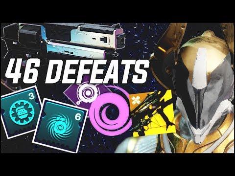 Scattered Darkness Warlock Build | 46 Defeats