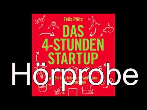 Das 4-Stunden-Startup YouTube Hörbuch Trailer auf Deutsch