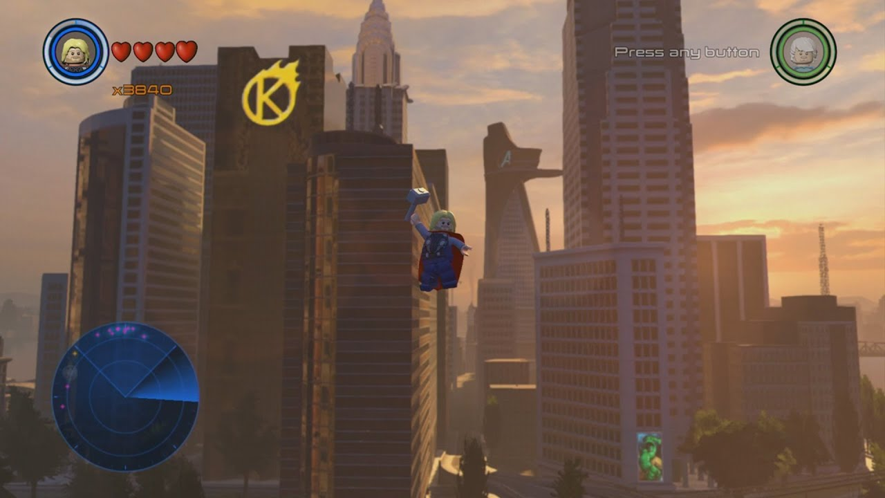 All Gold Bricks In New York Manhattan Hub Lego Marvel