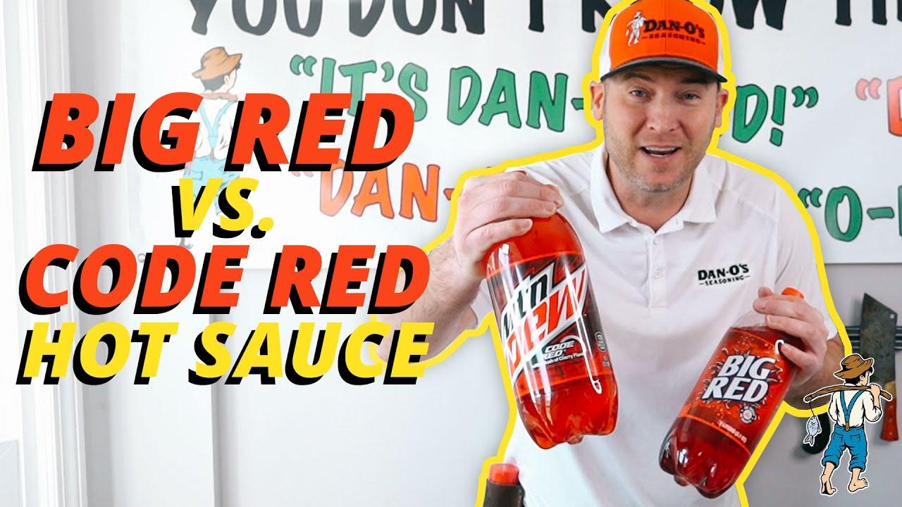 Big Red vs. Code Red Hot Sauce Wings   DAN-O'S SEASONING