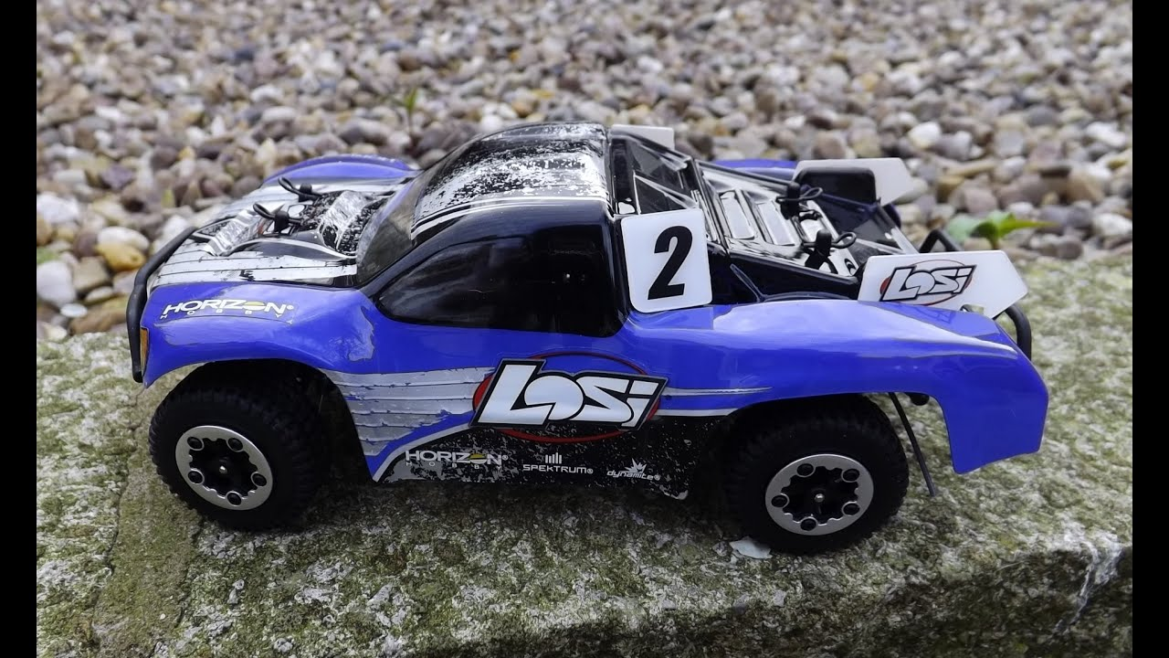 LOSI newest micro scte 1 24 4wd brushless rc short course truck