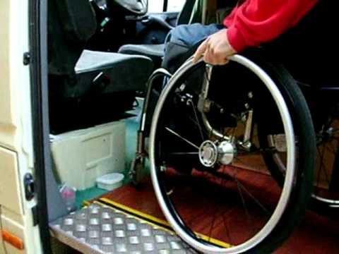 Wheelchair accessible mercedes sprinter youtube Handicap wheelchair