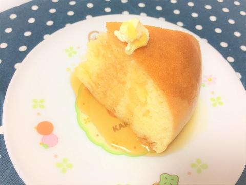 炊飯器で簡単 分厚いホットケーキ Easy thick Pancake