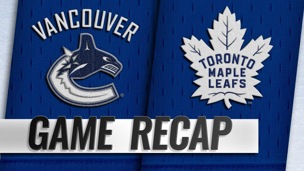 LatinoAthlete Auston Matthews lead Maple Leafs past Canucks