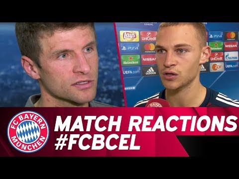🗣 Match Reaction after #FCBCEL w/ Müller, Kimmich & more!