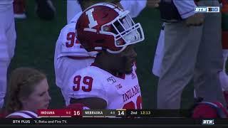 Nebraska vs Indiana 2019 in 40 Minutes (Full Game)