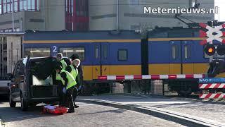 Treinverkeer verstoord door ongeval op spoor bij station Assen
