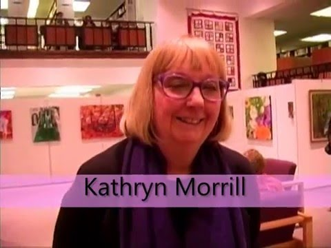 The Pine Gallery in Fair Lawn held an Opening Reception for artist Kathryn Morrill.