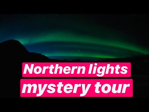 SCOTLAND TO ICELAND - 1700 Miles - NORTHERN LIGHTS