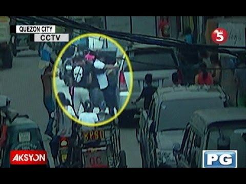 Sapul sa CCTV   Lalaki, binugbog ng mga nagpanggap na pulis sa QC