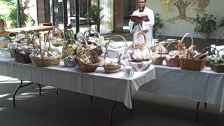 Easter Blessing Of Food Part 1