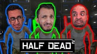 متاهة الفخوخ | اتحداك تفوز بدون ماتموت ولا مرة! Half Dead 2