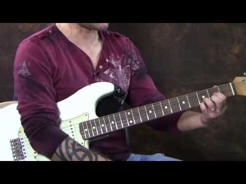 Steve Stine Guitar Lesson - Learn How to play You Shook Me All Night Long by AC/DC