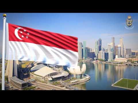 Majulah Singapura - Singaporean National Anthem (MS/EN)
